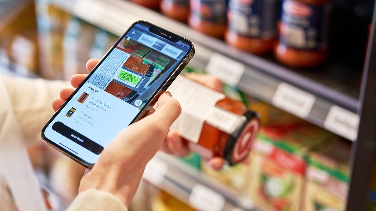 Retail Grocery Self Scanning Customer