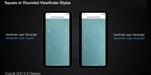 Scandit new viewfinder designs