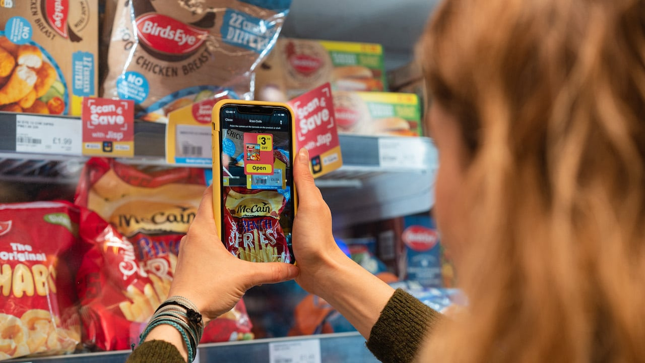 Jisp scanning product app with Augmented reality