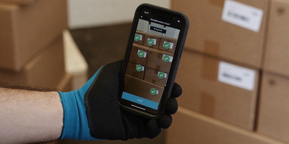 Smartphone Scanning Powers Food Distribution Deliveries